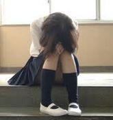 コンプレックスに悩む女子高生